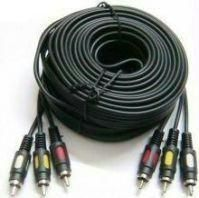 3 Rca Audio / Video AV Cable 10 Meters