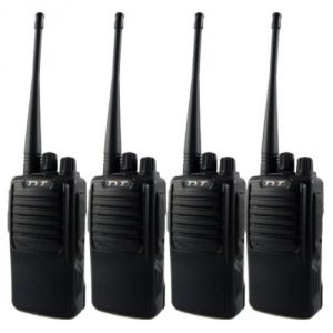4 Way Uhf Long Range Professional Walkie Talkie ( 4 Pcs)