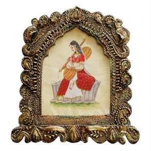 Handcrafted Big Photoframe Cum Rajasthani Jharokha