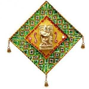 Wooden Handicrafts - Radha Krishna Mandap
