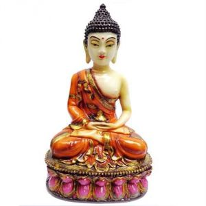 Lord Buddha In Meditation Position