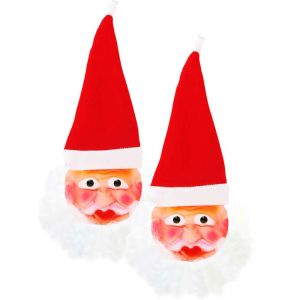 Apparels - Xmas Pack Of Two Santa Face Mask