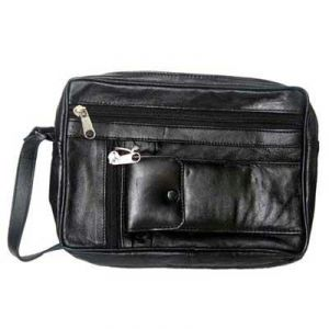 Gents Leather Wash Bag