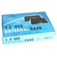 "CD Writers - .5"" Inch SATA Hard Disk External Casing With 2.0 USB Adaptor"