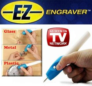 Home Utility Gadgets - Gadget Hero's Engrave It Etching Engraver Engraving Pen For Glass Metal