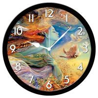 Furnishfantasy Clocks - Furnish Fantasy Abstract Girl Wall Clock