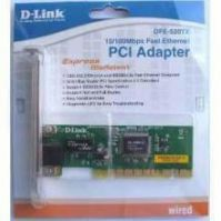 Wireless Data Cards - New Dlink 520tx PCI Ethernet Lan Card With Manufacturer Warranty
