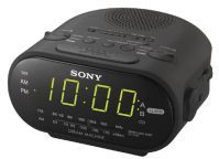 Sony Home Decor & Furnishing - Sony Icf-c318 Clock Radio With Dual Alarm (black)
