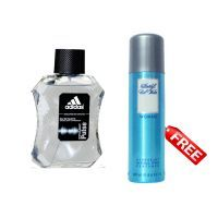 Adidas Personal Care & Beauty - Free Davidoff Cool Water For Women Deodorant With Adidas Dynamic Pulse Natural Spray Edt