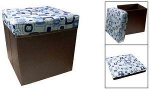 Ottoman - Folding Multifunction Storage Stool Seat Box For Children