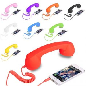 Mobile Accessories (Misc) - Anti-radiation Retro Handset Coco Phone