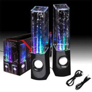Portable Speakers - Dancing Water Speakers For Laptop Tablet PCs Mobile iPod 3.5 MM Connect