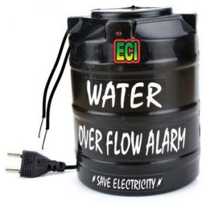 Home Accessories - Eci Premium Voice Talking Water Tank Overflow Alarm Overhead Over Flow Head