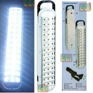 Emergency Lamps - Tall 42 LED Emergency Light Rechargeable Lamp