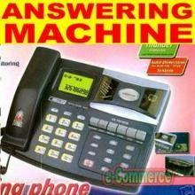 Answering Machines - Answering machine , With Recording, CALLER ID