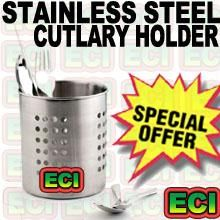 Stainless Steel Kitchen Cutlery Spoon Holder