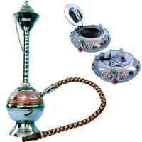 Ashtrays - Buy Sunshine Rajasthan Colorful Meenakari Hukka N Get Ash Tray Free