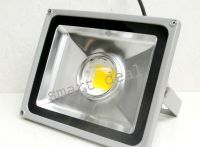 Lighting fixtures - Sell New LED Flood Light With Big Crystal Reflector Lens 50w