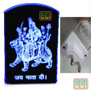 Idols & Decoratives - God Sheran Wali Maa Jai Mata Di Lord Lighted idol