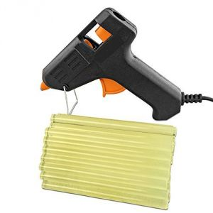 Hand Tools - Glue Gun With Pack Of 20 Glue Sticks Combo