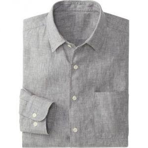 Men's Wear - Full Sleeves Linen Shirt For Mens