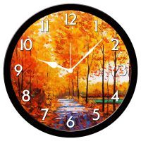 Furnishfantasy Clocks - Furnishfantasy Painting Wall Clock