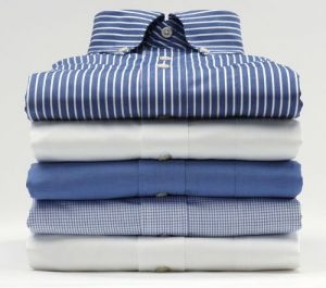 Men's Wear - Pack Of 5 Assorted Formal Shirts For Mens (plain Stripes)