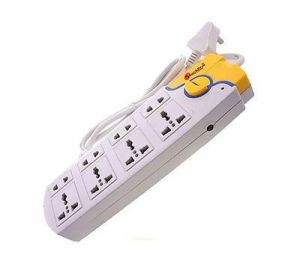 8 Way Power Extension Socket Extension Board With Single Switch