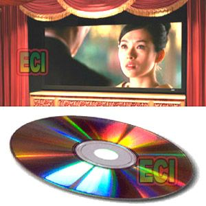Eci Diy Project CD Make Projector & Convert Small TV To 150 Inch Big Screen