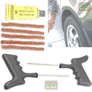 Tubeless Tyre Puncture Repair Kit Car / Bike Tier