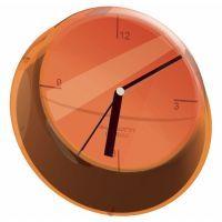 Clocks - Home Collective - Bugatti Orange San Glamour Orange Wall Clock - 33 Cm