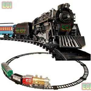 Battery Operated Toys - Westen Express Train Set Classic Toy With Tracks