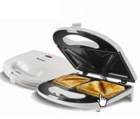 Toasters, Grillers - Skyline Non Stick 750 Watt 4 Slice Sandwich Toaster Maker With 1 Year Wrty
