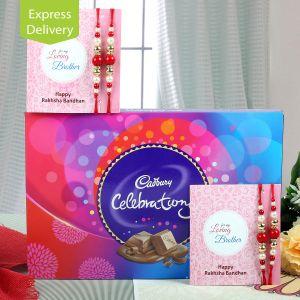 Rakhi Express Gifts (for Brothers in India) - Crazy Celebrations Rakhi
