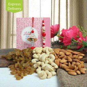 Rakhi Express Gifts (for Brothers in India) - Incredible Lumba Beauty-Rakhi