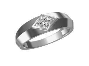 Kiara,Fasense,Flora,Pick Pocket,Avsar,Gili,Diya,Estoss,Lime Women's Clothing - Kiara  Sterling Silver Pooja Ring  302W