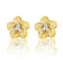 Ag Real Diamond Stone Jasmin Earring Agse0054