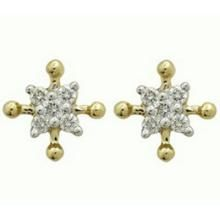 Ag Real Diamond Stone Earring Agse0108