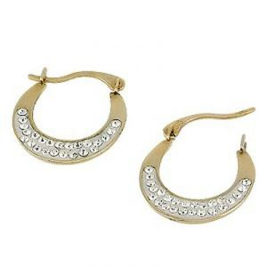 Ag Real Diamond Kadi Shape Earrings