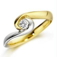 Ag Real Diamond Stone Fancy Ring Agsr0046