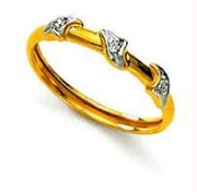 Ag Real Diamond Women Ring Agsr0053