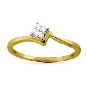 Four Stone Square Shape Diamond Ring Agsr0140