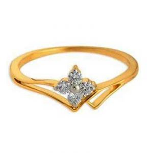 A Mount Flower Look Diamond Ring Agsr0141