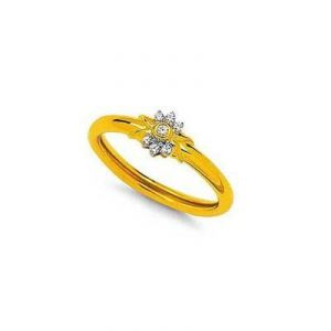 Flower Band Shape Diamond Ring Agsr0155