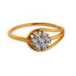 Flower On Wassel Shape Diamond Ring Agsr0161