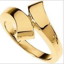 Au 18k Pure Yellow Gold Fancy Ring Aur004