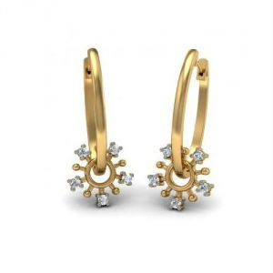 Avsar Real Gold Diamond Amazing Earring Ave0168