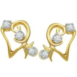 Avsar Real Gold And Diamond Six Stone Fancy Shape