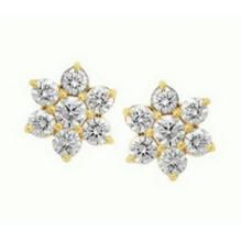 vipul,avsar,kaamastra,lime,shonaya,kaara,jpearls,sinina Diamond Earrings - Avsar Real Gold and Diamond Nakshatra Earring