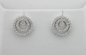 Port,Ag,Arpera,Avsar Diamond Jewellery - Avsar Real Diamond Double Circular Earrings
